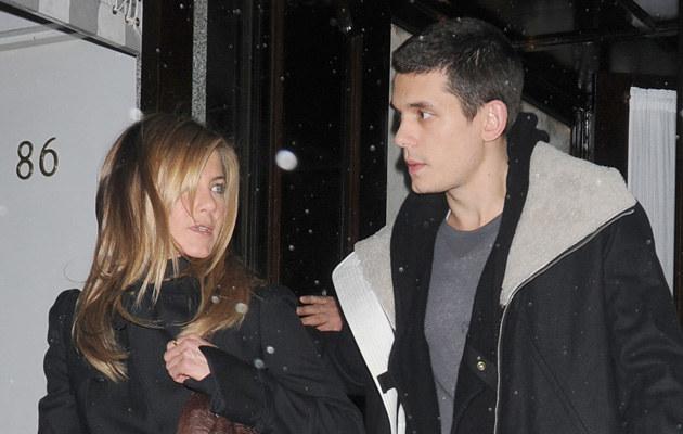 Jennifer Aniston i John Mayer, fot. Arnaldo Magnani  /Getty Images/Flash Press Media
