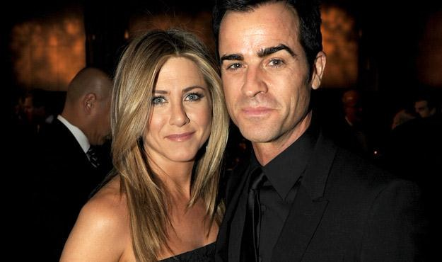 Jennifer Aniston i Justin Theroux, fot. Kevin Winter /Getty Images/Flash Press Media