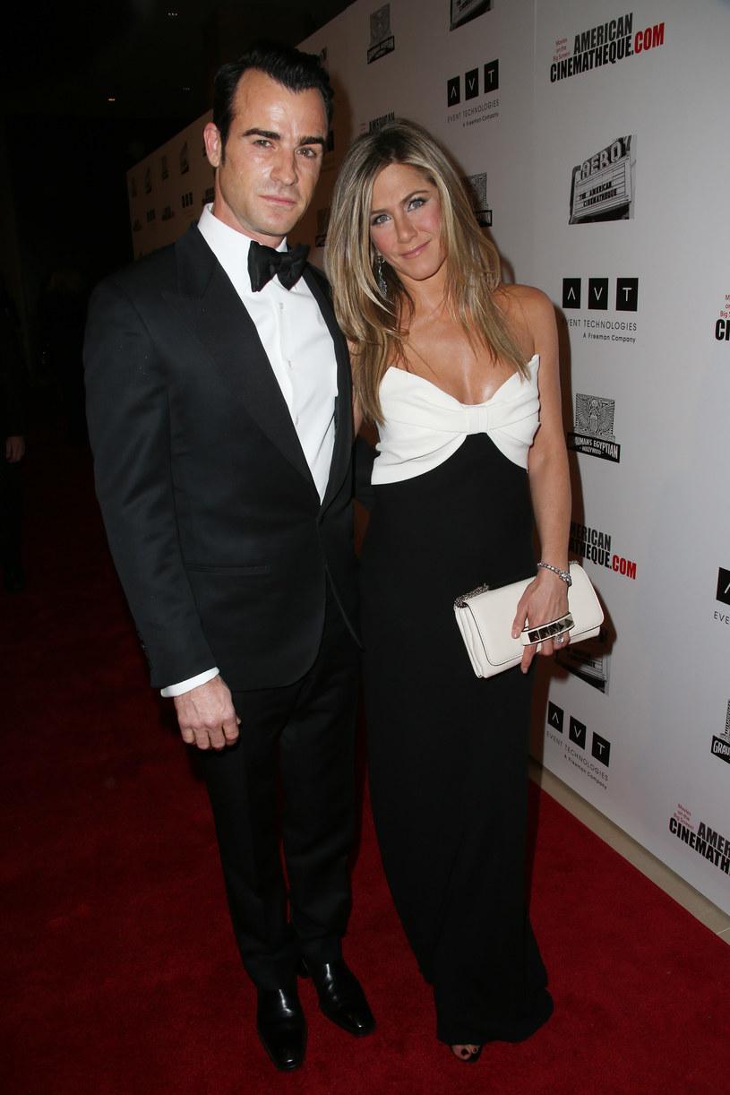 Jennifer Aniston i Justin Theroux /Jason Merrit /Getty Images
