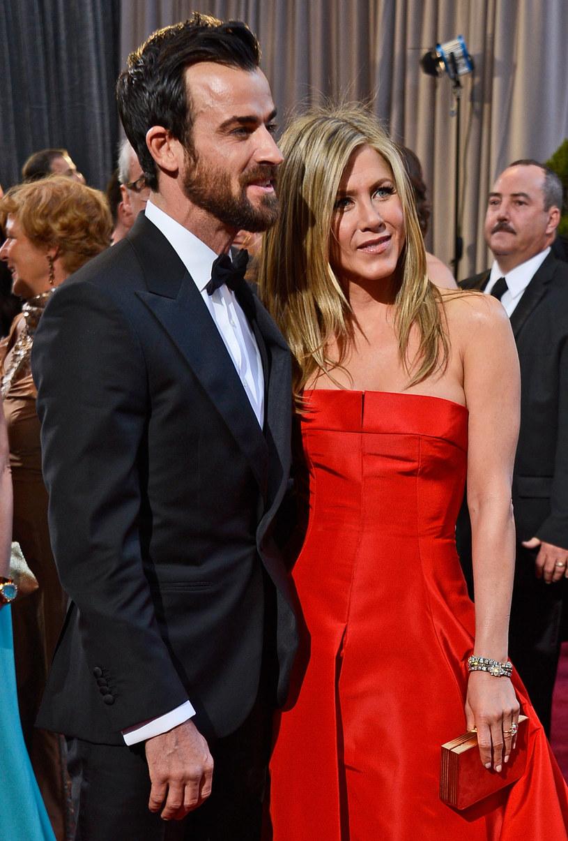 Jennifer Aniston i Justin Theroux /Frazer Harrison /Getty Images