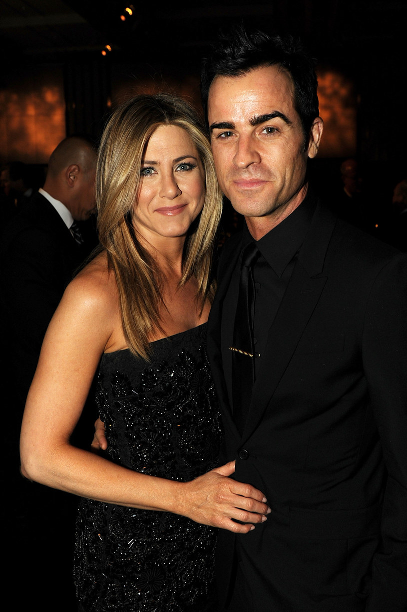 Jennifer Aniston i Justin Theroux /Kevin Winter /Getty Images
