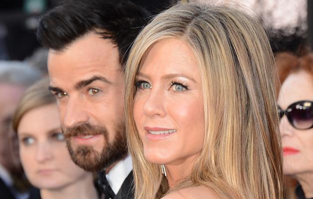 Jennifer Aniston i Justin Theroux /Jason Merritt /Getty Images