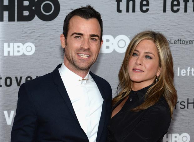 Jennifer Aniston i Justin Theroux /Getty Images