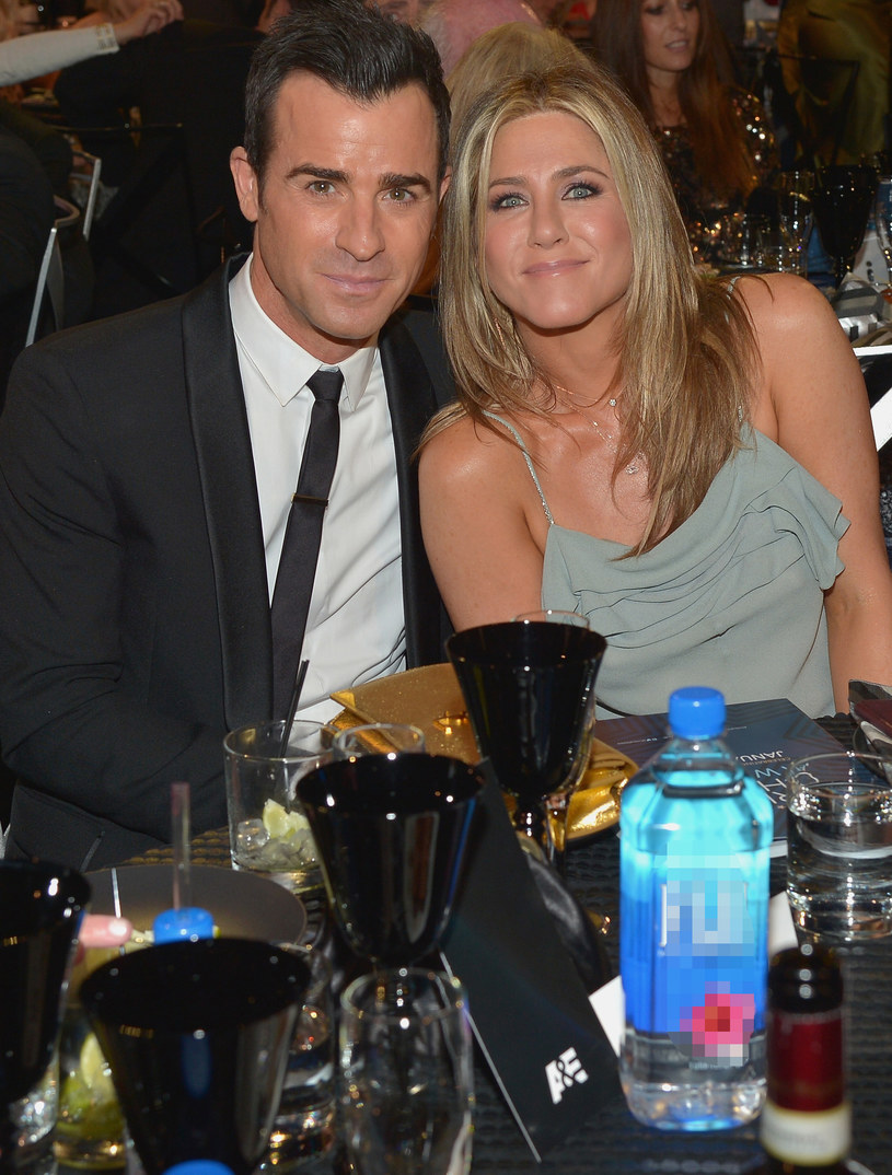 Jennifer Aniston i Justin Theroux /Charley Gallay /Getty Images