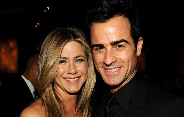 Jennifer Aniston, Justin Theroux /Kevin Winter /Getty Images