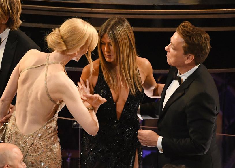 Jennifer Aniston na gali Oscarów /Kevin Winter /Getty Images