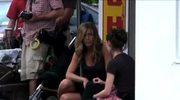 Jennifer Aniston na planie