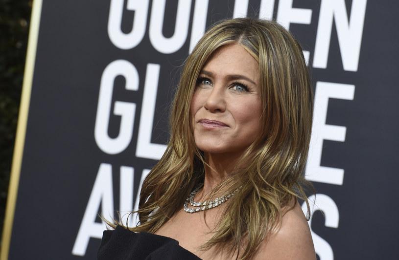 """Jennifer Aniston podczas tegorocznych """"Złotych Globów"""" /Invision /East News"""