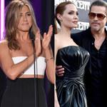 """Jennifer Aniston skomentowała rozwód Pitta i Jolie: """"To karma"""""""