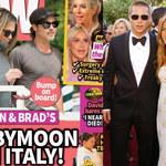 """""""Jennifer Aniston w ciąży!"""" Z Bradem Pittem spędziła urlop we Włoszech?"""
