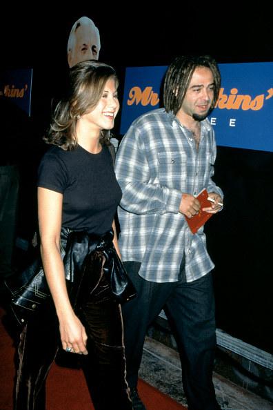 Jennifer Aniston z Adamem Duritzem /Ron Davis /Getty Images