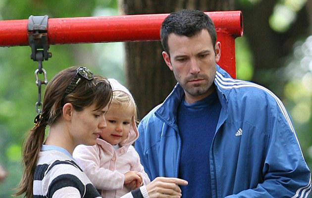 Jennifer Garner i Ben Affleck z córką /Splash News /East News
