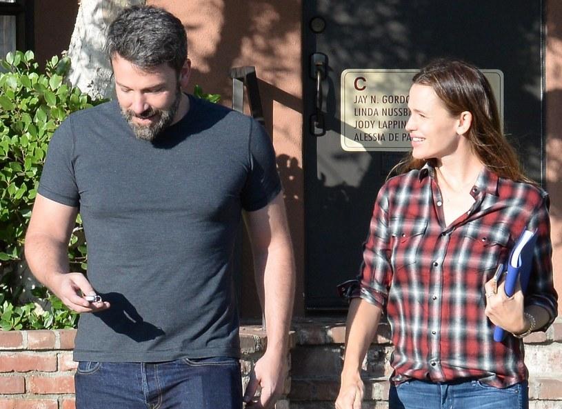 Jennifer Garner i Ben Affleck /London Entertainment /Splash /East News