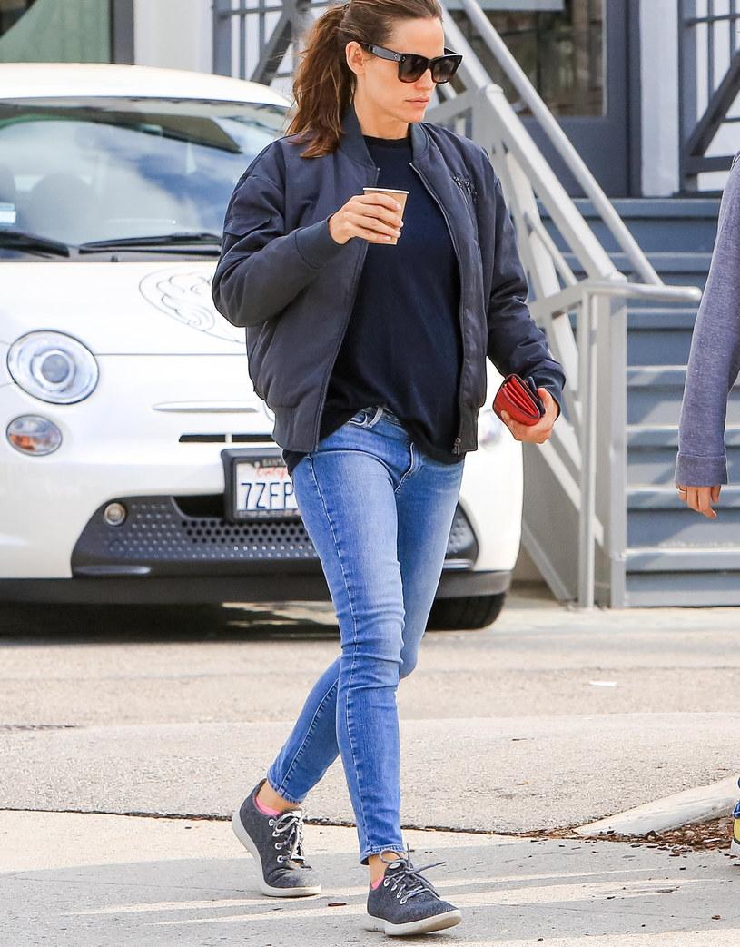 Jennifer Garner w swoich ulubionych butach /East News