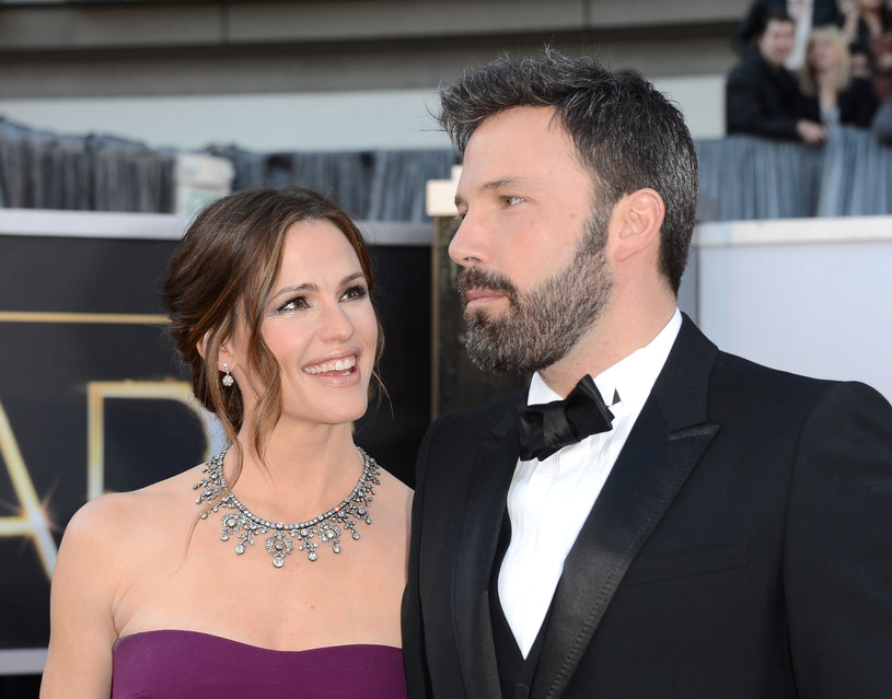 Jennifer Garner z mężem Benem Affleckiem /Jason Merritt /Getty Images