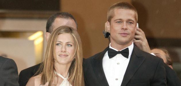 Jennifer i Brad w 2004 roku, fot. Dave Hogan  /Getty Images/Flash Press Media