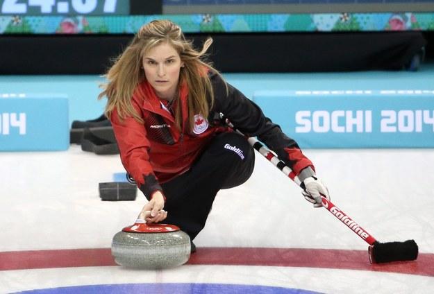 Jennifer Jones z Kanady /TATYANA ZENKOVICH  /PAP/EPA