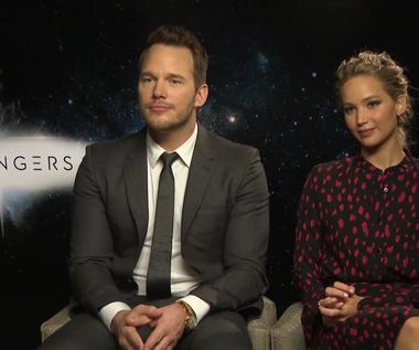 """Jennifer Lawrence i Chris Pratt o filmie """"Pasażerowie"""""""