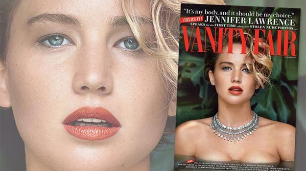 """Jennifer Lawrence na okładce nowego numeru """"Vanity Fair"""" /materiały prasowe"""