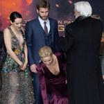 Jennifer Lawrence nie może zapanować nad niesfornym biustem?