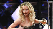 Jennifer Lawrence zaliczyła wpadkę podczas rozdania Oscarów! Co za wstyd!