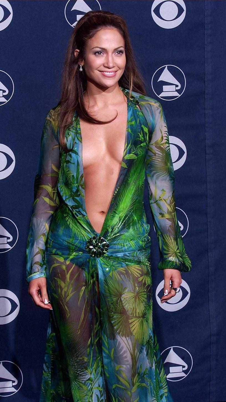 Jennifer Loper na rozdaniu nagród Grammy, rok 2000 /East News