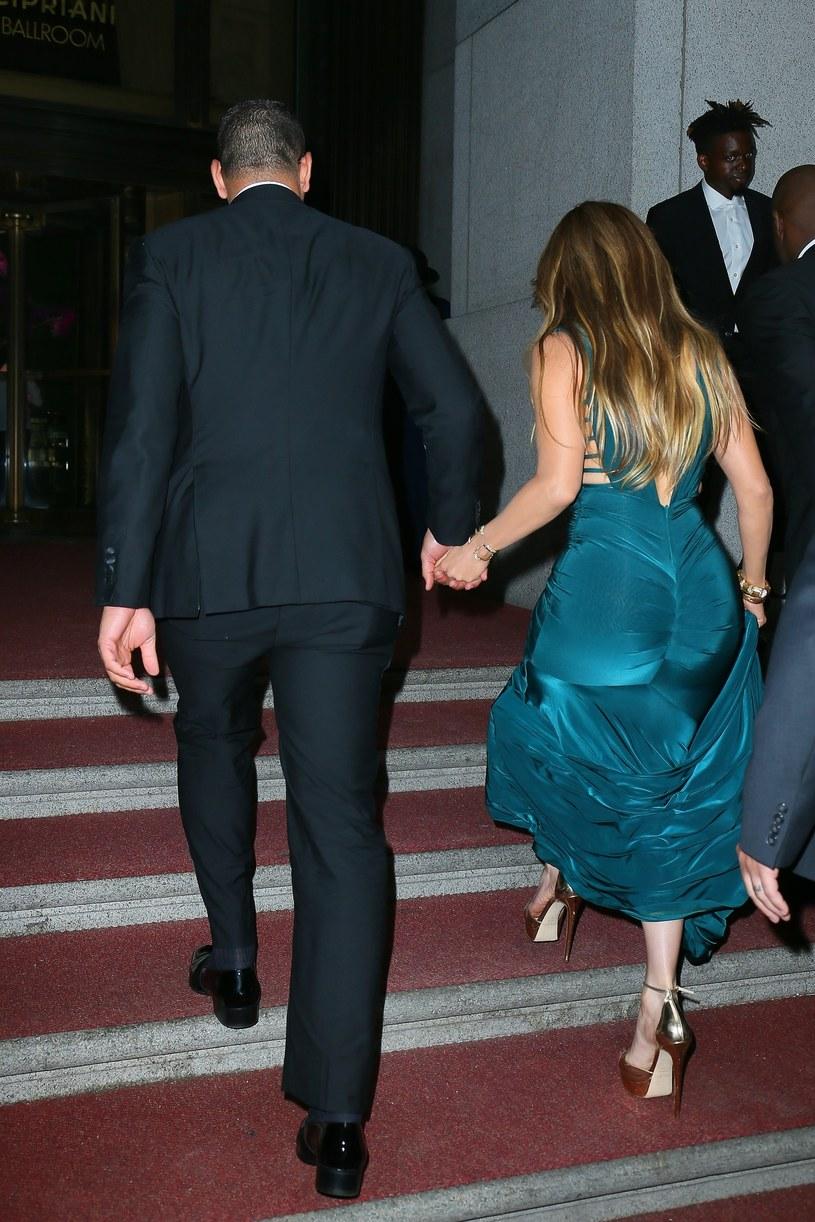 Jennifer Lopez i Alex Rodriguez /East News