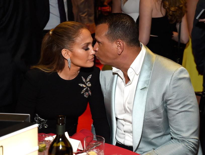 Jennifer Lopez i Alex Rodriguez /Kevin Mazur /Getty Images