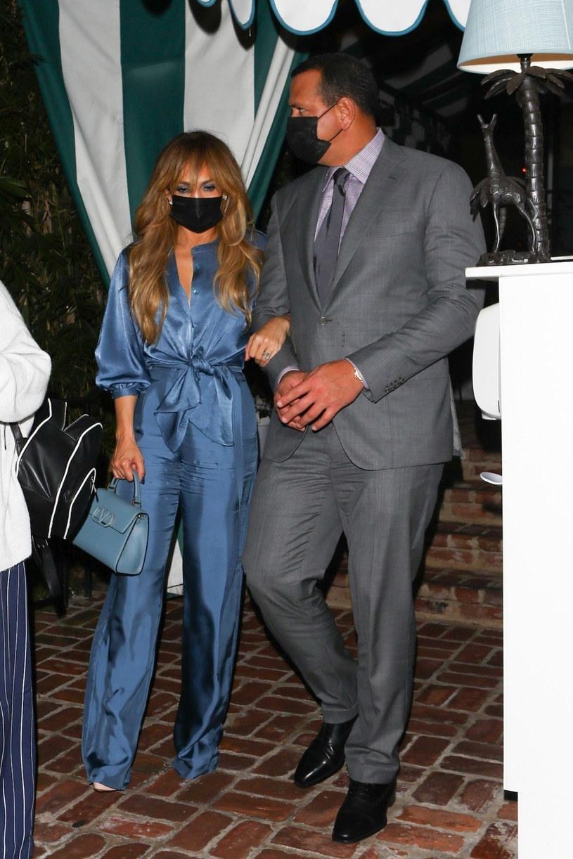Jennifer Lopez i Alex Rodriguez /EVGA, ROLO/Backgrid/East News /East News