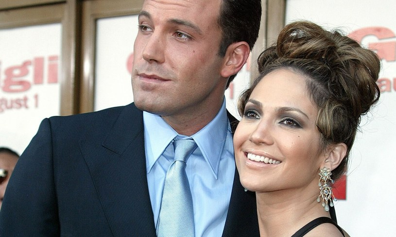 Jennifer Lopez i Ben Affleck fot. Mary Evans/Allstar/Graham Whitby Boot /Mary Evans Picture Library /East News