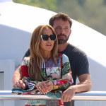 Jennifer Lopez i Ben Affleck nie szczędzą sobie czułości na wakacjach