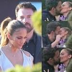 Jennifer Lopez i Ben Affleck przyłapani na pocałunkach. Gorące fotki!