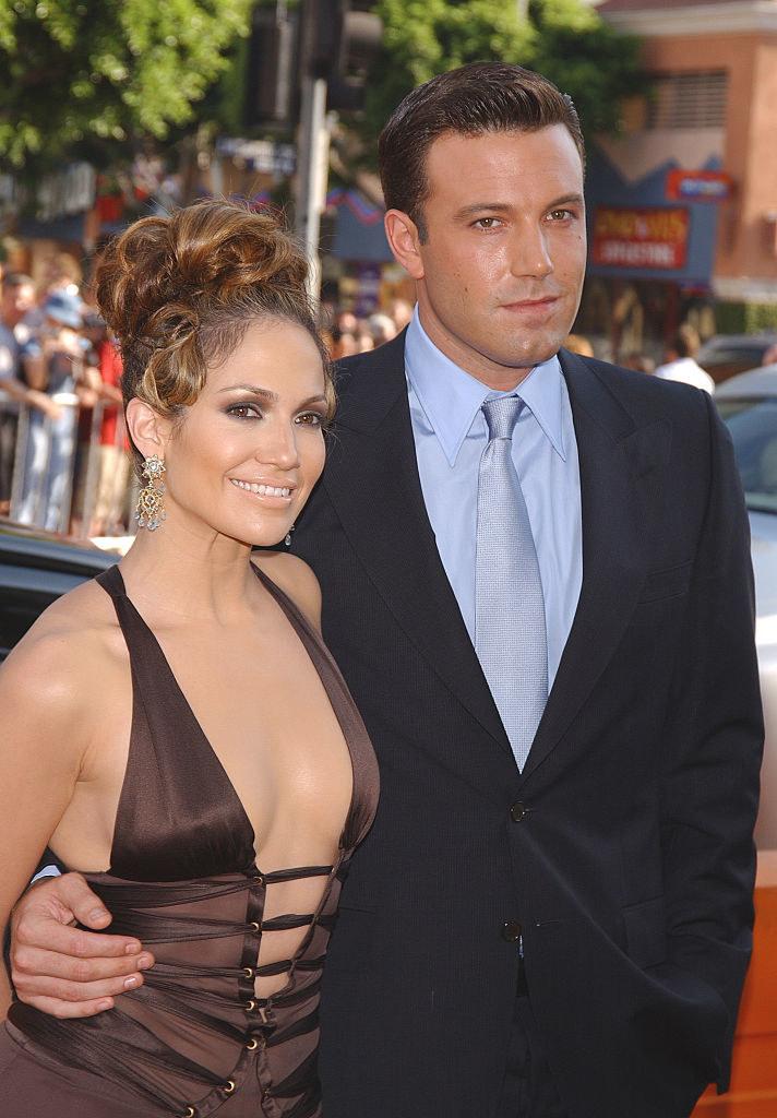 Jennifer Lopez i Ben Affleck w 2003 roku. /Frank Trapper/Corbis via Getty Images /Getty Images