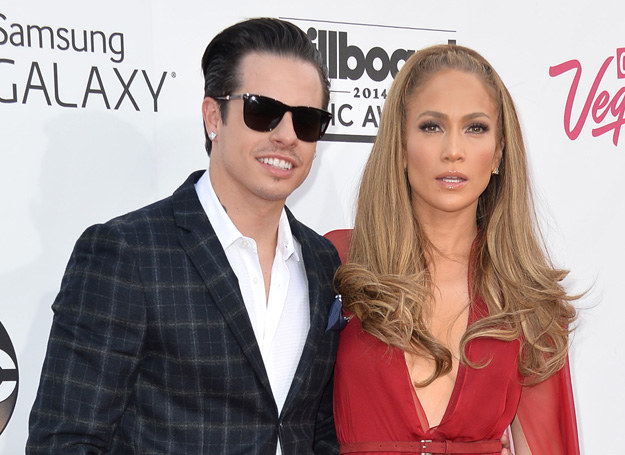 Jennifer Lopez i Casper Smart - wrócą do siebie? /Getty Images