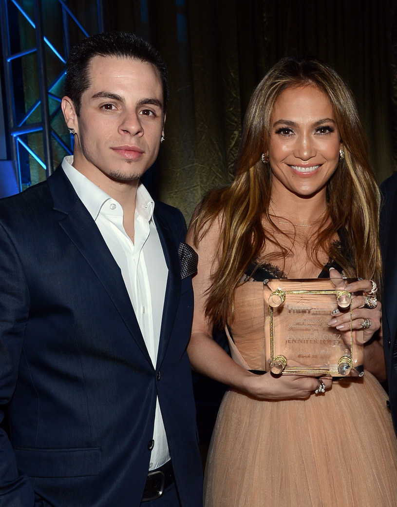 Jennifer Lopez i Casper Smart /Michael Buckner  /Getty Images