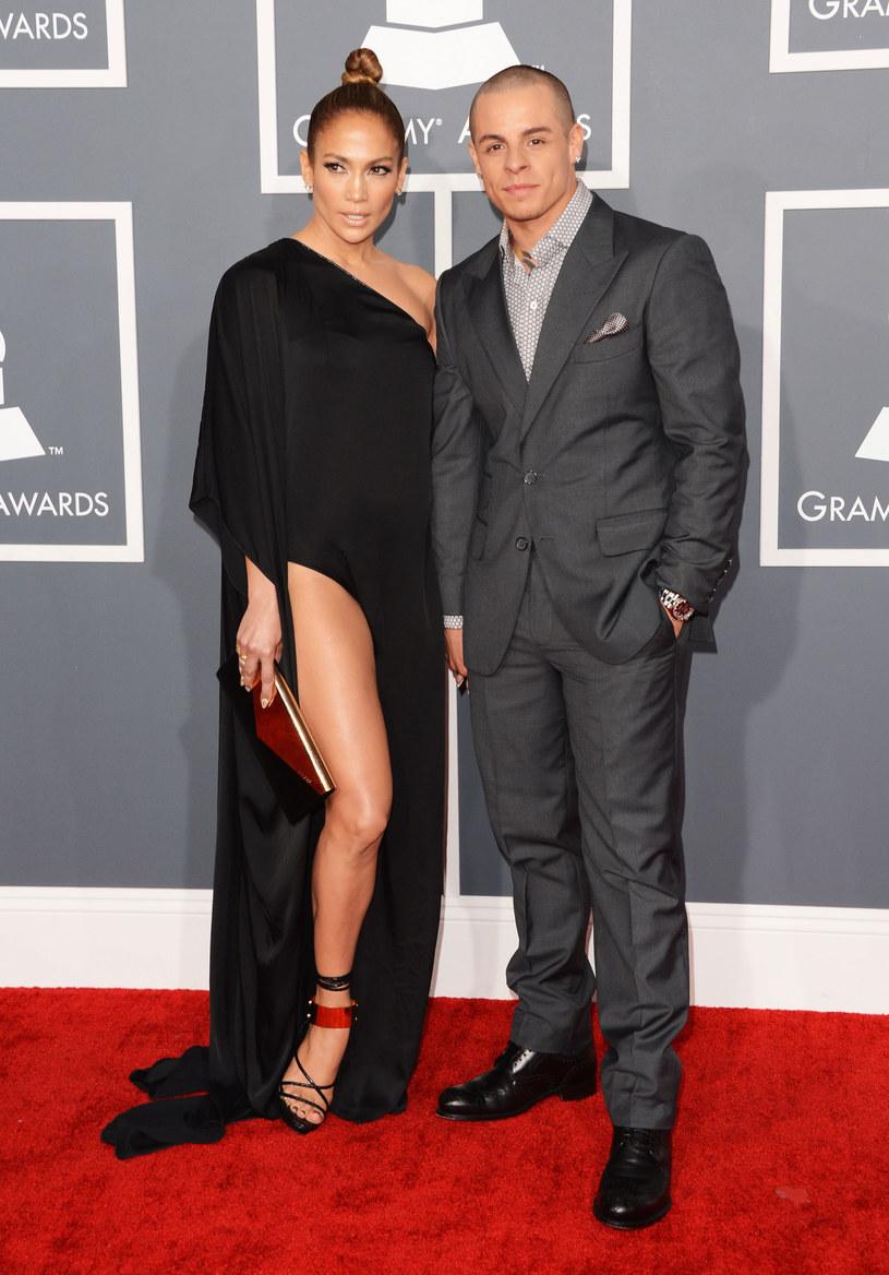 Jennifer Lopez i jej młodszy kochanek /Getty Images/Flash Press Media