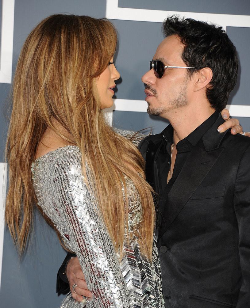 Jennifer Lopez i Marc Anthony /Jason Merritt /Getty Images