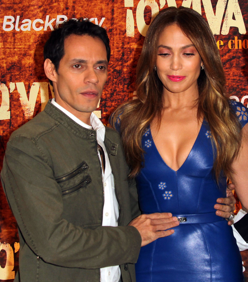 Jennifer Lopez i Marc Anthony /Frederick M. Brown /Getty Images