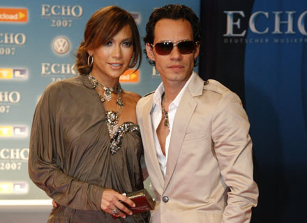 Jennifer Lopez i Marc Anthony /arch. AFP