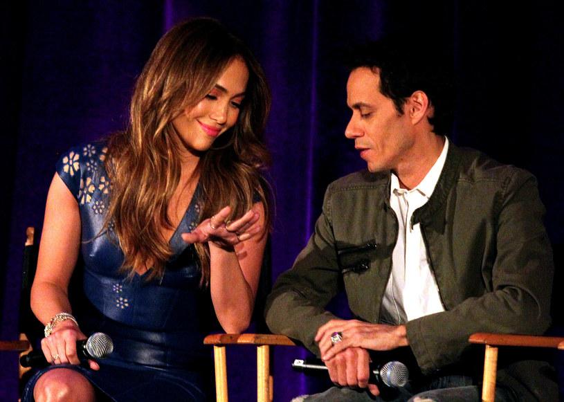 Jennifer Lopez i Marc Anthony /Frederick M Brown /Getty Images