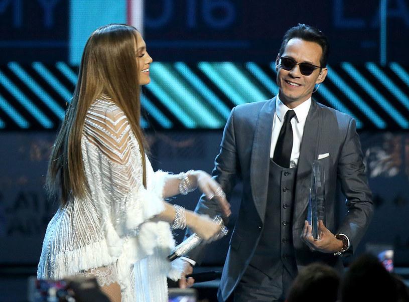 Jennifer Lopez i Marc Anthony /Michael Tran/FilmMagic /Getty Images
