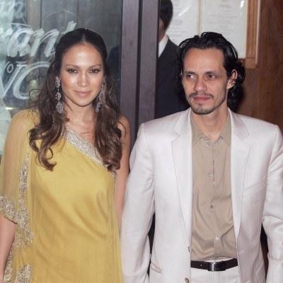 Jennifer Lopez i Marc Antony /AFP