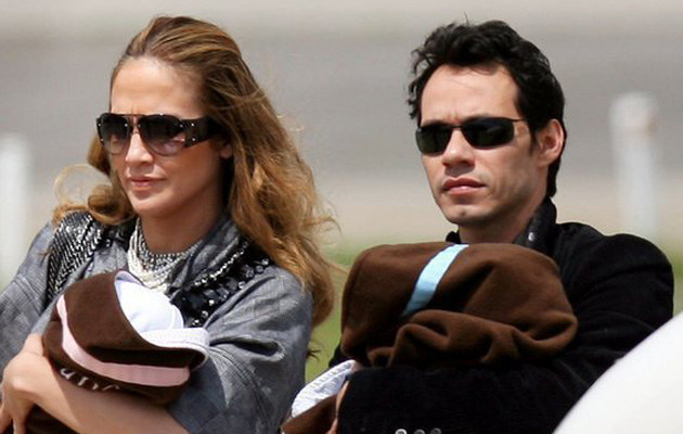 Jennifer  Lopez i Mark Anthony  /AFP