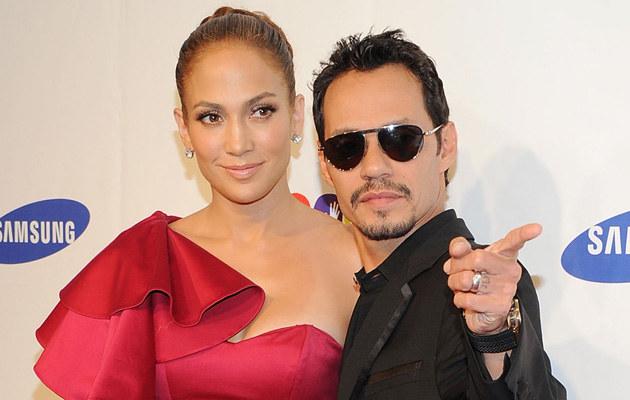 Jennifer Lopez i Mark Anthony, fot.Jason Kempin  /Getty Images/Flash Press Media