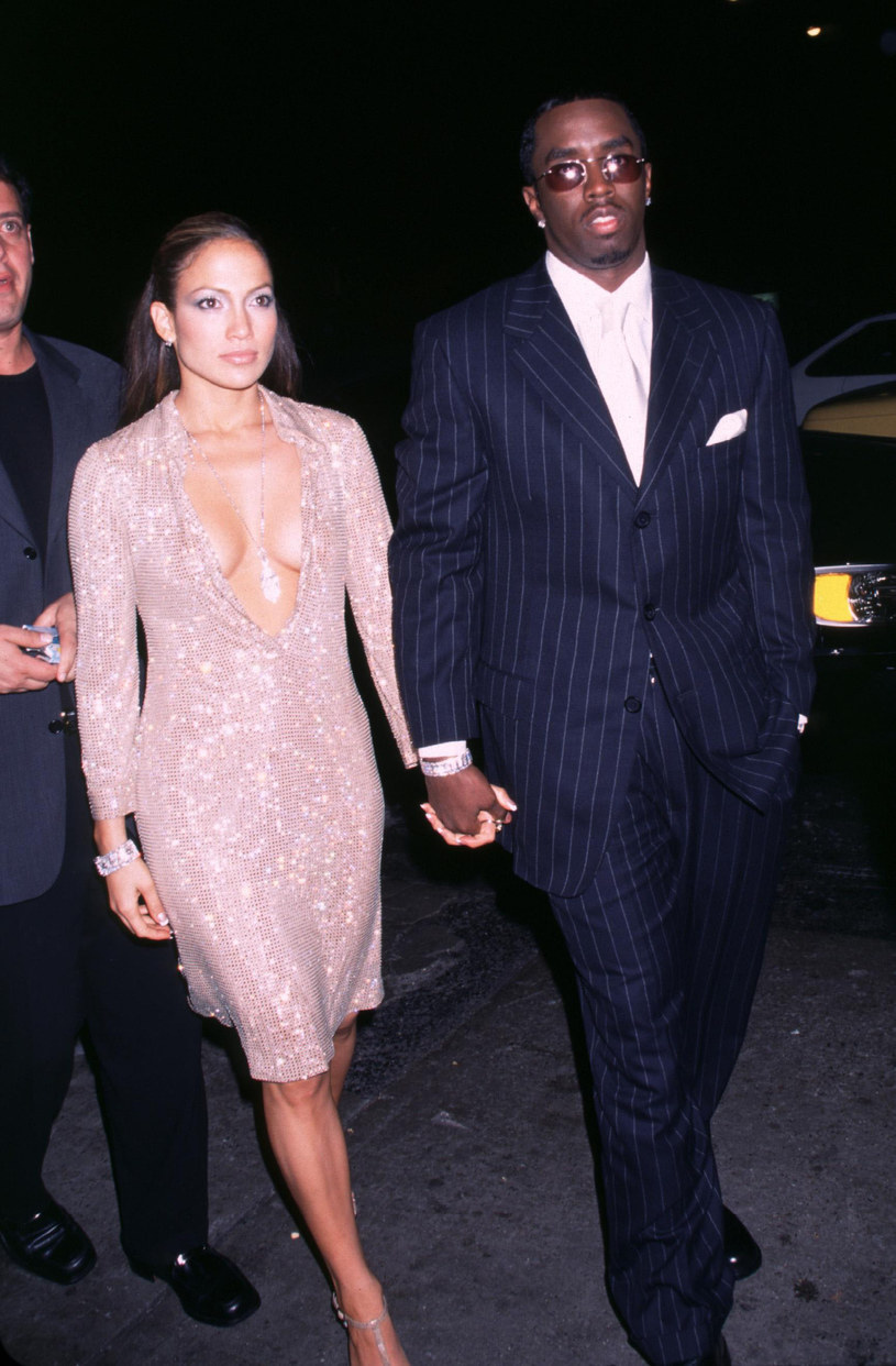 Jennifer Lopez i Puff Daddy /Brenda Chase /Getty Images