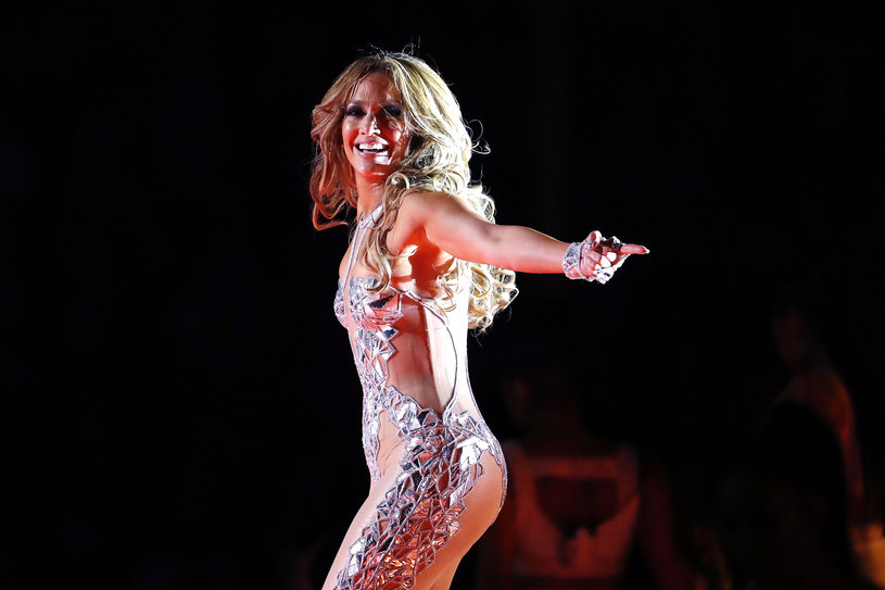 Jennifer Lopez i Shakira podczas Super Bowl /Kevin C. Cox /Getty Images