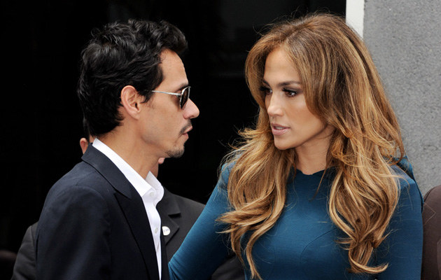 Jennifer Lopez, Marc Anthony, fot.Kevin Winter   /Getty Images/Flash Press Media