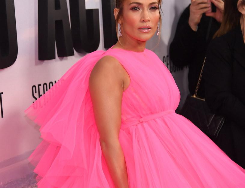 """Jennifer Lopez na premierze """"Second Act"""" /Nicholas Hunt /Getty Images"""