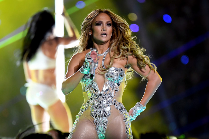 Jennifer Lopez na Super Bowl /Jeff Kravitz/FilmMagic /Getty Images
