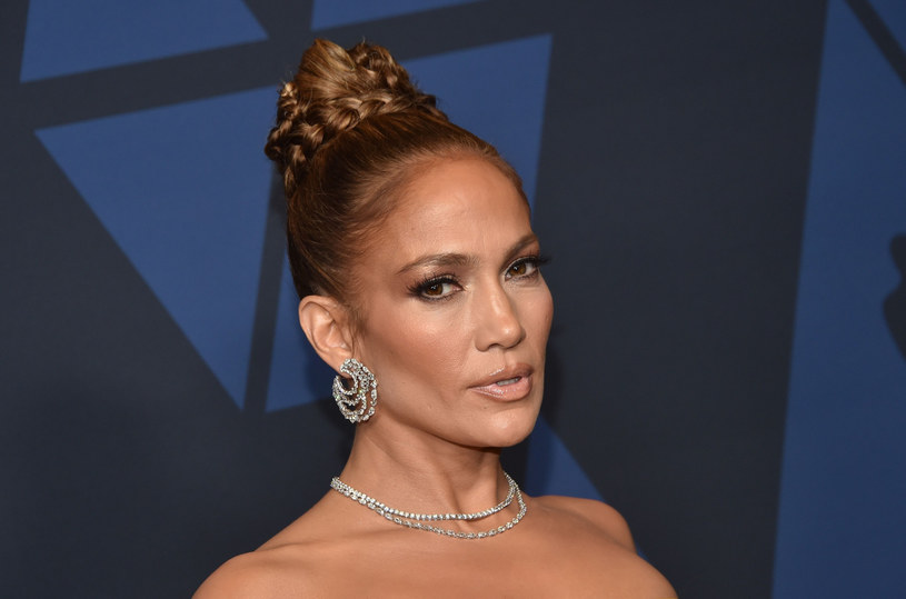 Jennifer Lopez podczas gali Governors /Chris Delmas/AFP /East News